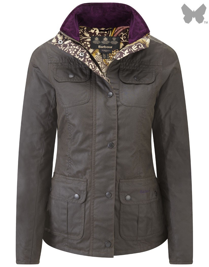 Barbour Olive Scholar Jacket