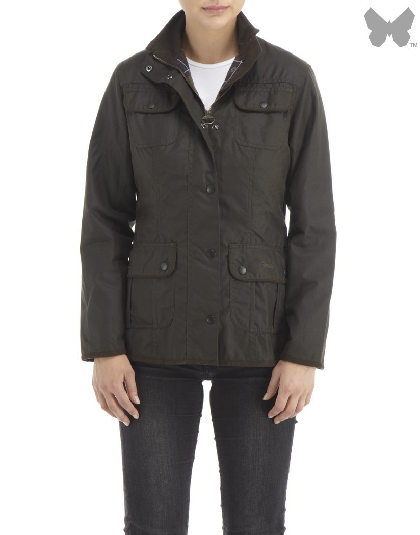 Barbour Olive Utility Jacket