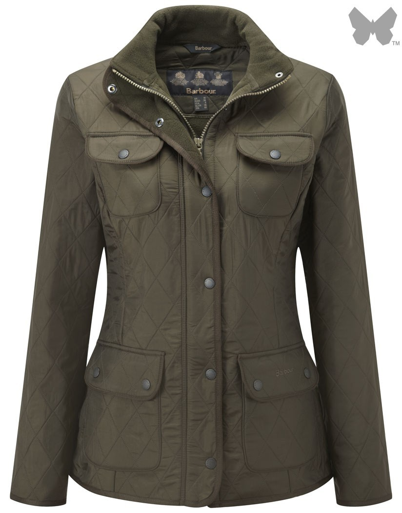 Barbour Olive Utility Polarquilt Jacket