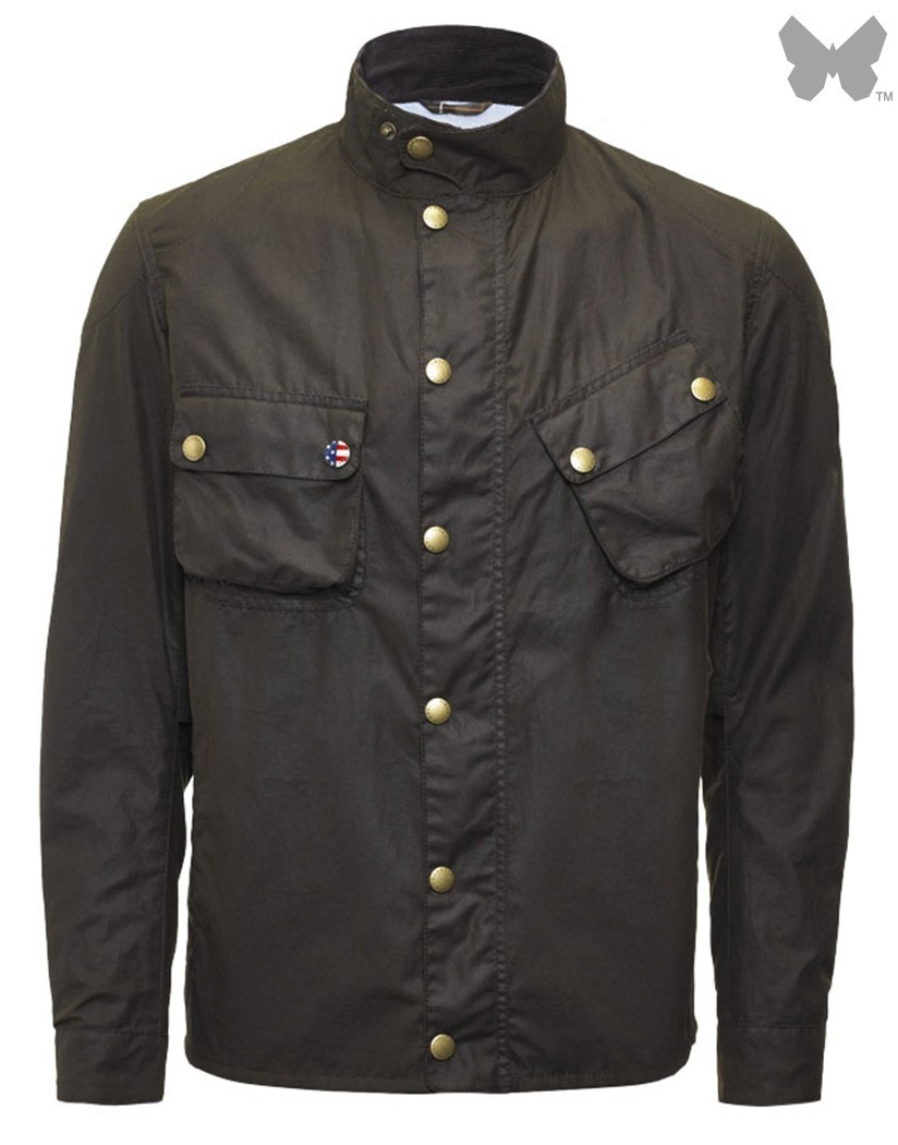 Barbour Olive 9665 Wax Jacket