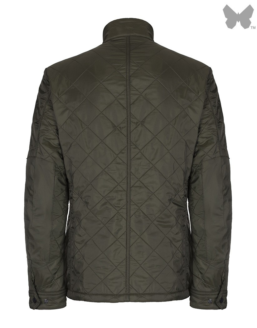 Barbour Olive Ariel Polarquilt Jacket