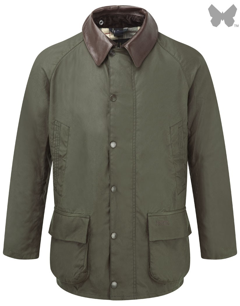 Barbour Olive Carraw Waxed Jacket