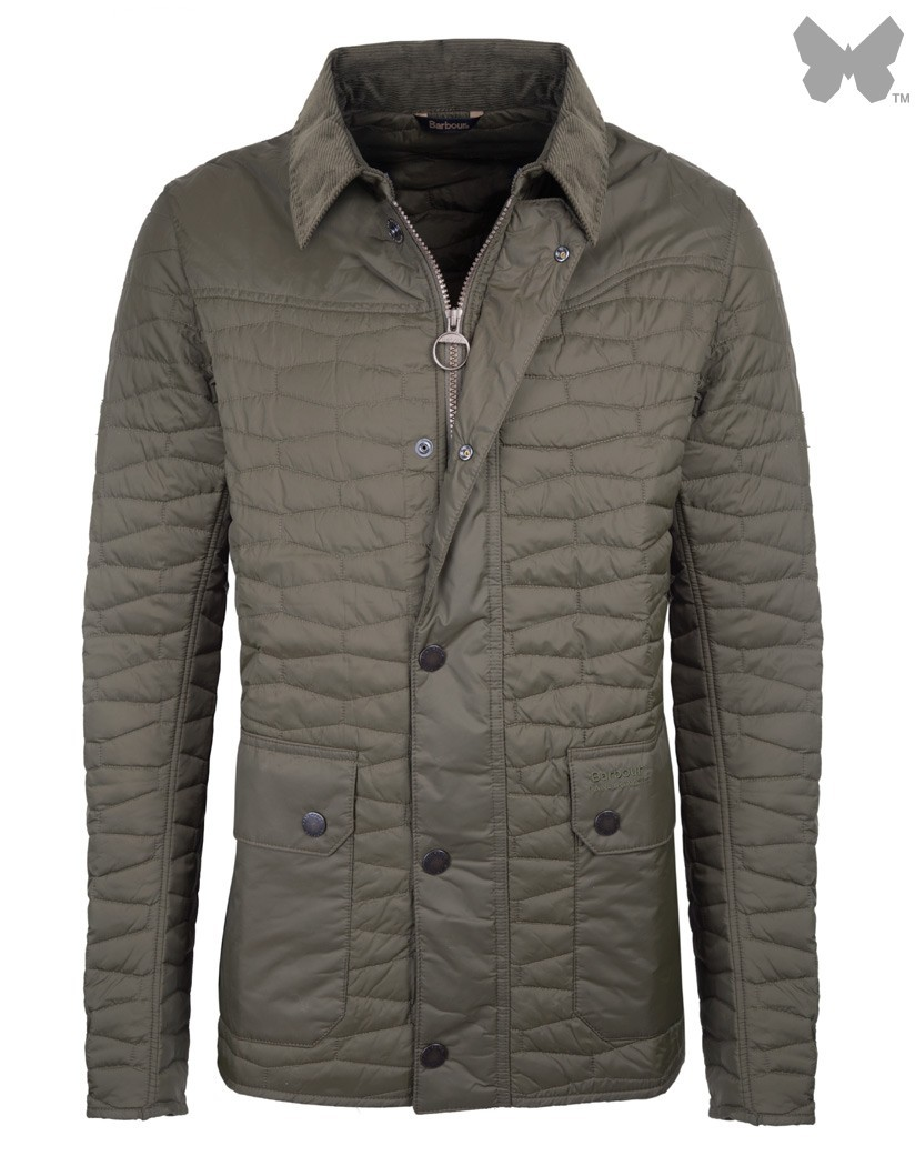 Barbour Olive Chesterdon Quilted Jacket