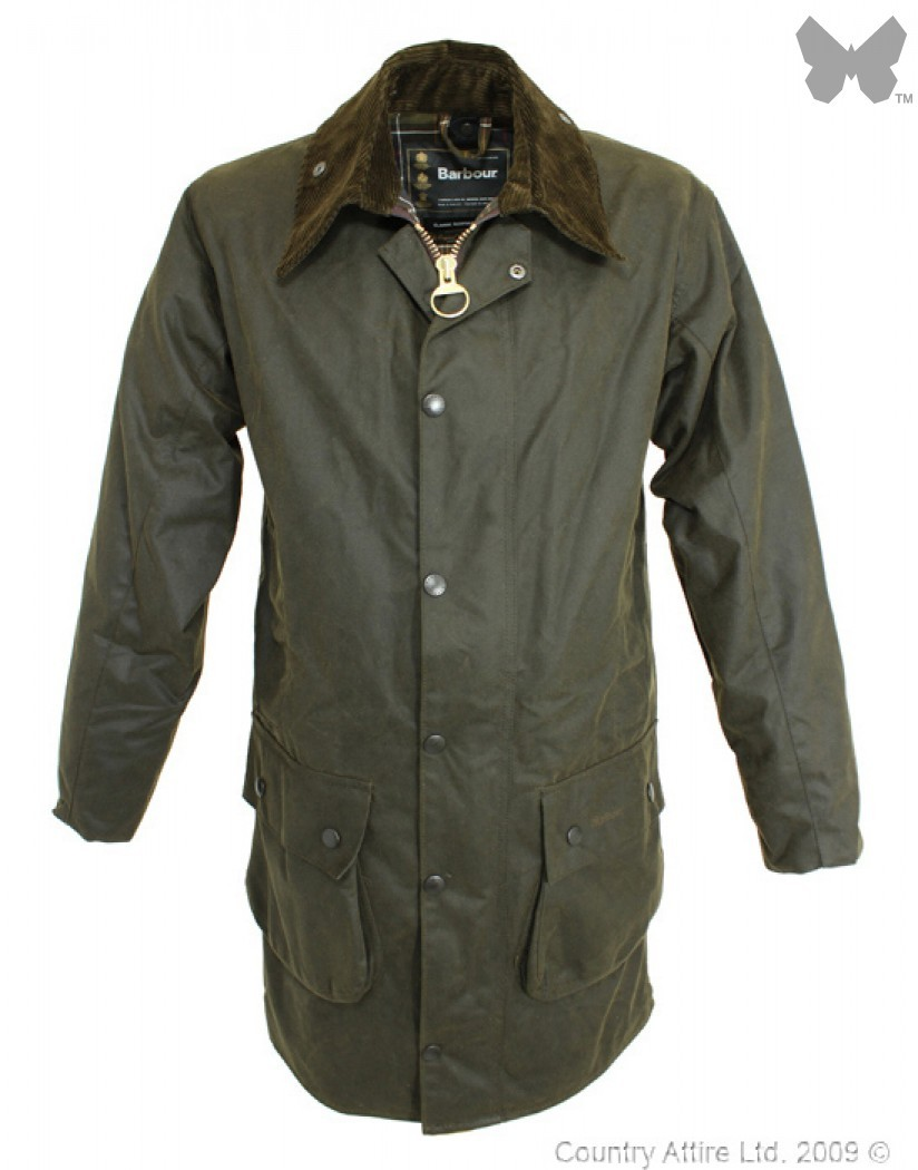 Barbour Olive Classic Northumbria Jacket