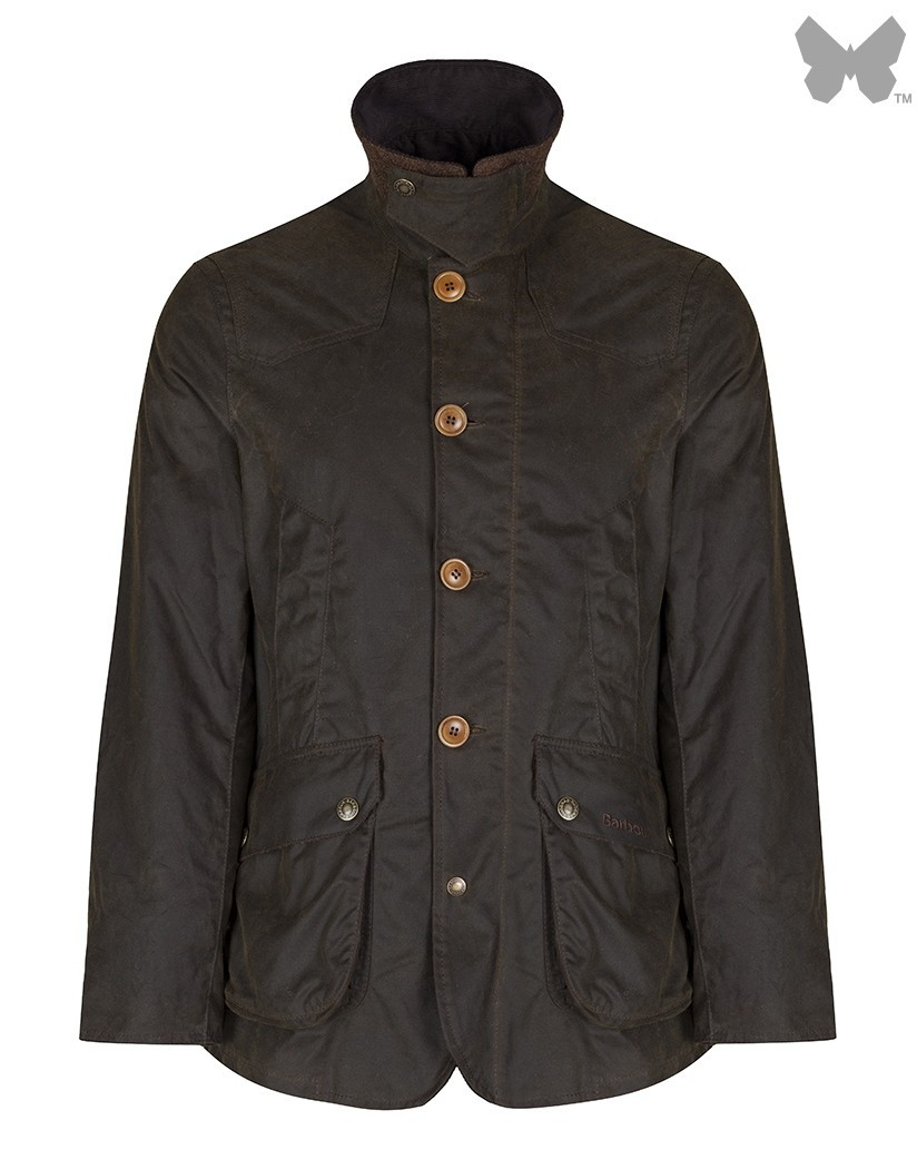 Barbour Olive Cullen Wax Jacket