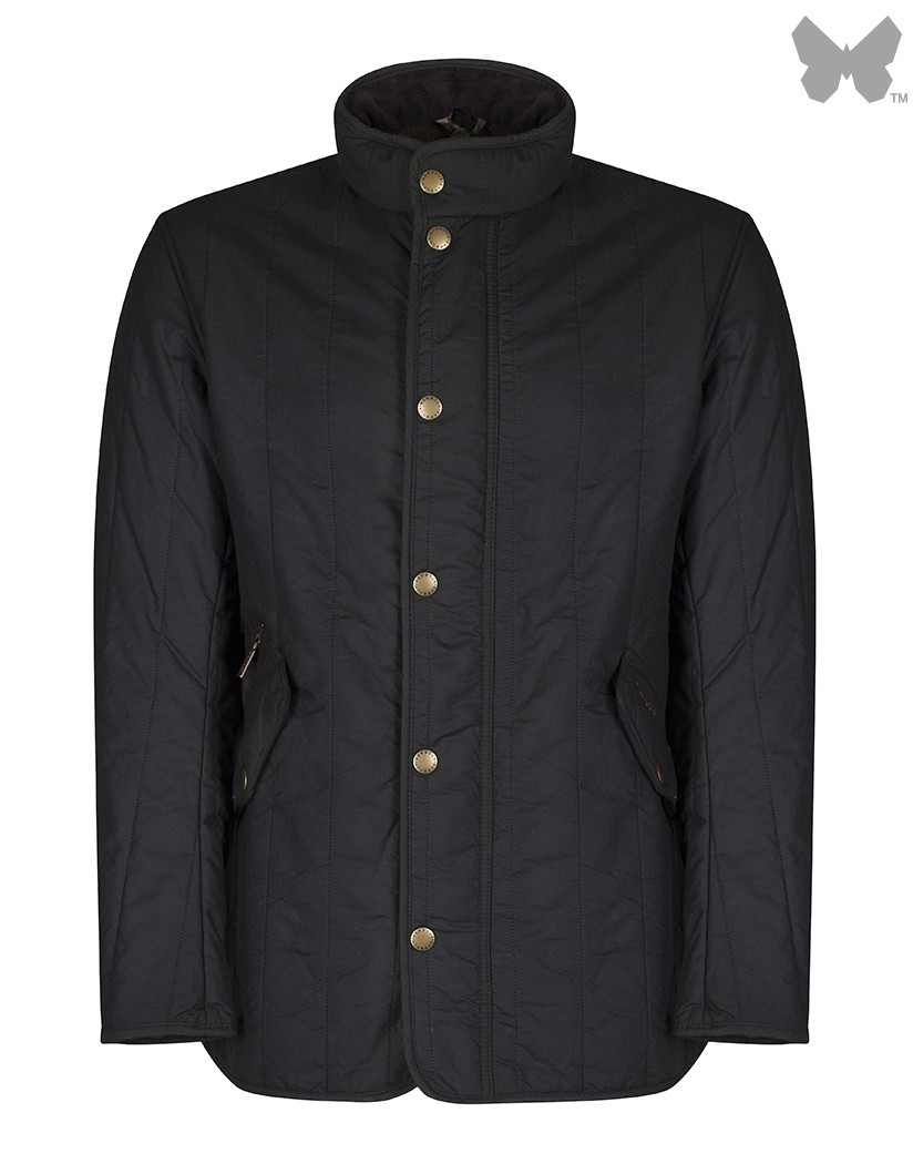 Barbour Olive Edderton Wax Jacket