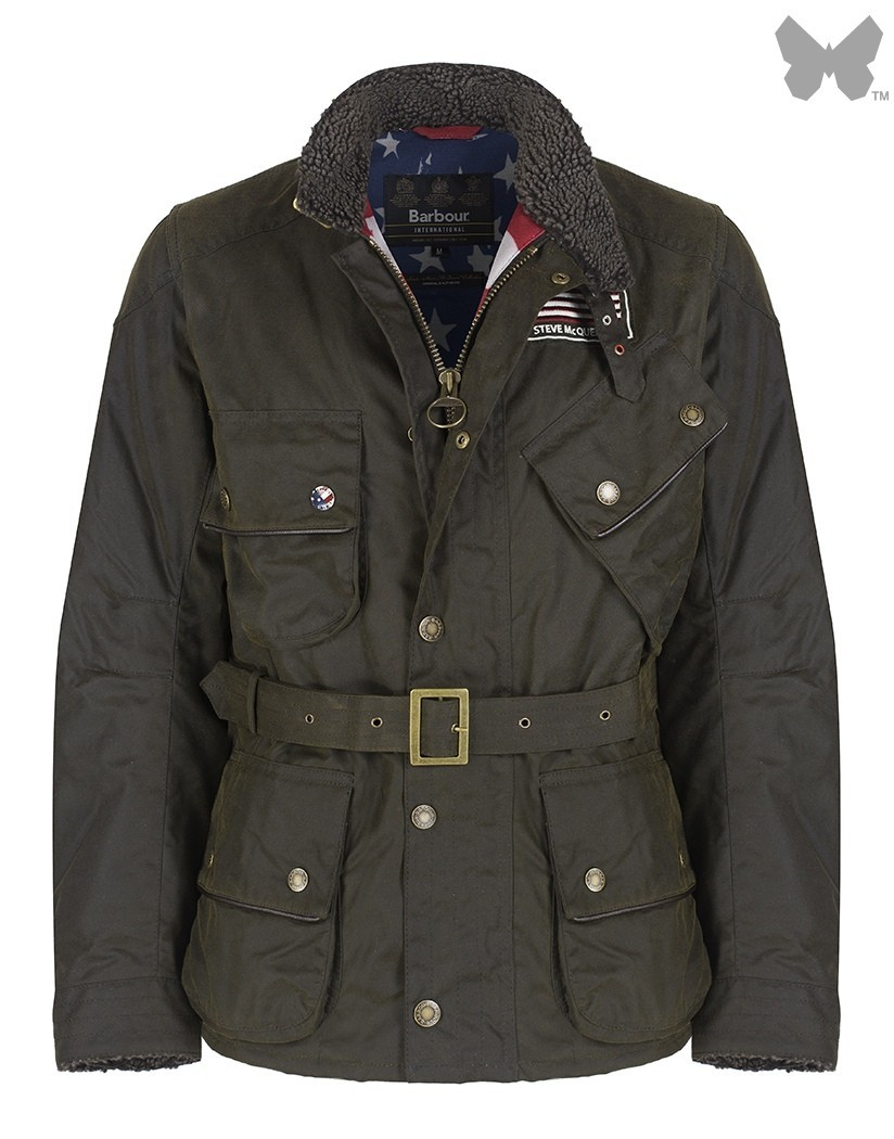 Barbour Olive Escape Wax Jacket