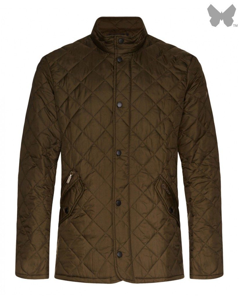 Barbour Olive Flyweight Chelsea Jacket