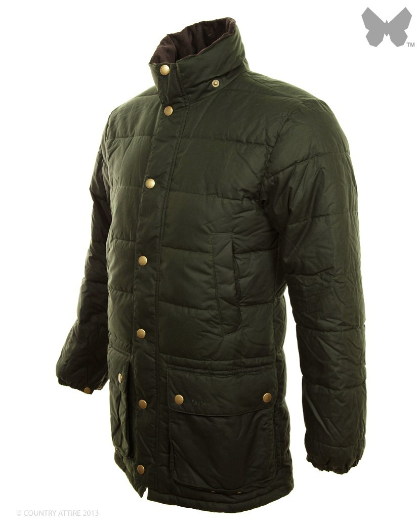 Barbour Olive Hemmingford Quilted Jacket