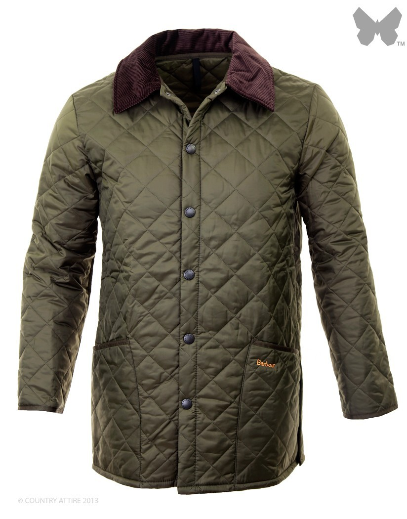 Barbour Olive Liddesdale Jacket