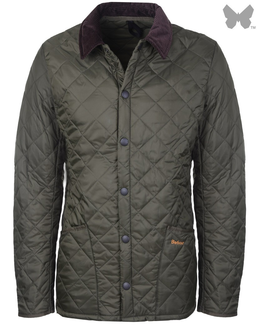 Barbour Olive Liddesdale Quilted Jacket