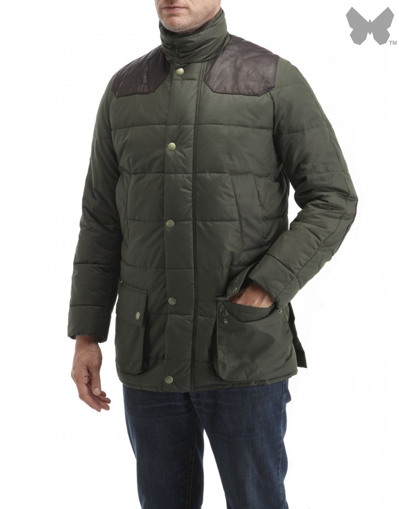 Barbour Olive Lodge Jacket