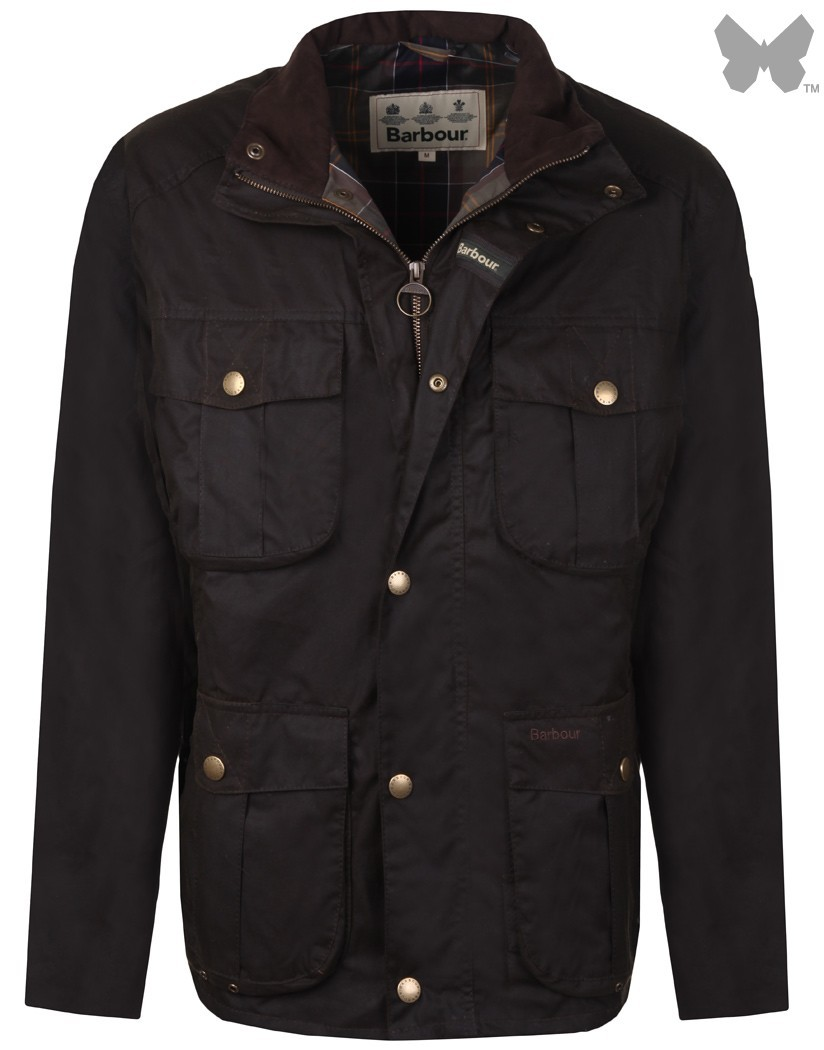 Barbour Olive New Utility Wax Jacket