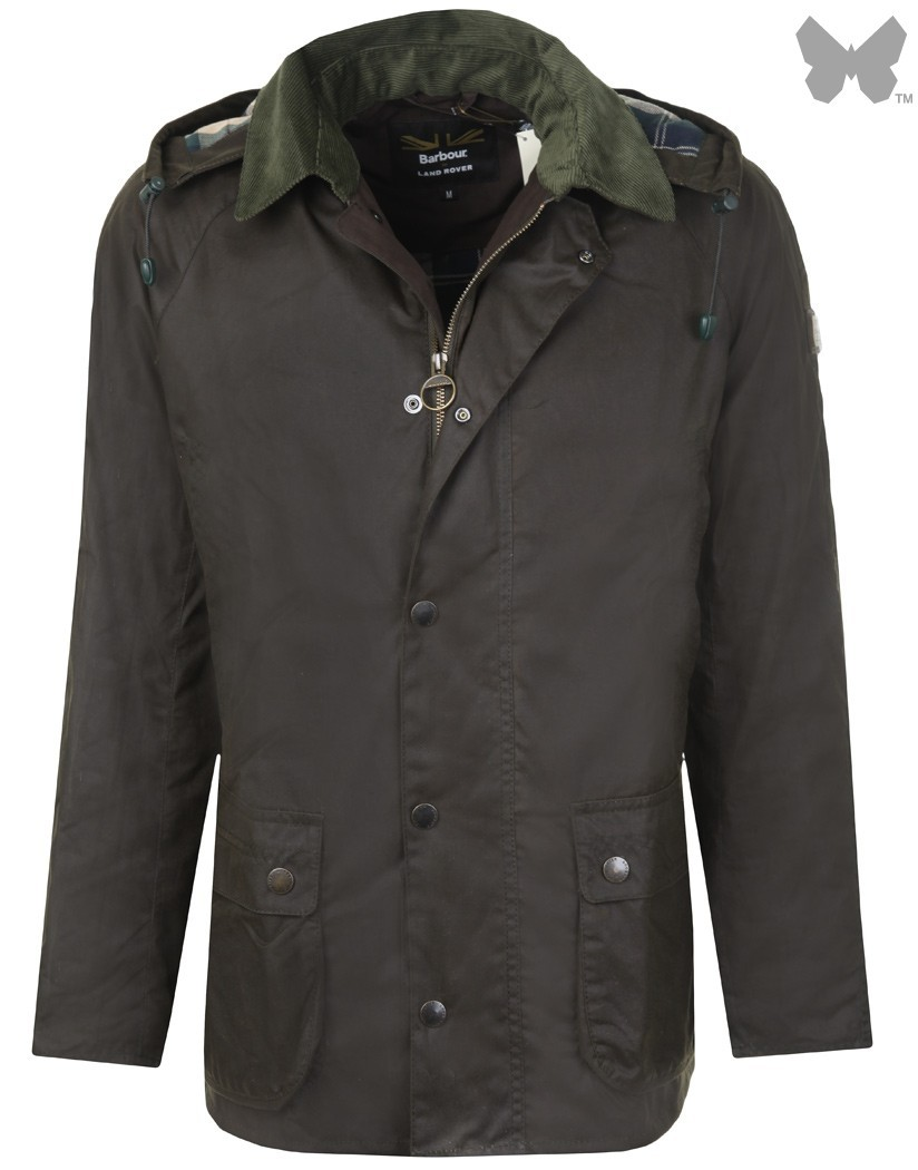 Barbour Olive Shilmoor Wax Jacket