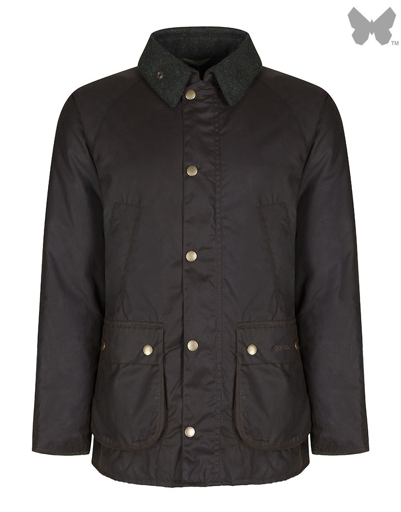 Barbour Olive Sl Bedale Moons Wax Jacket