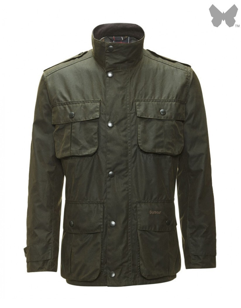 Barbour Olive Trooper Jacket