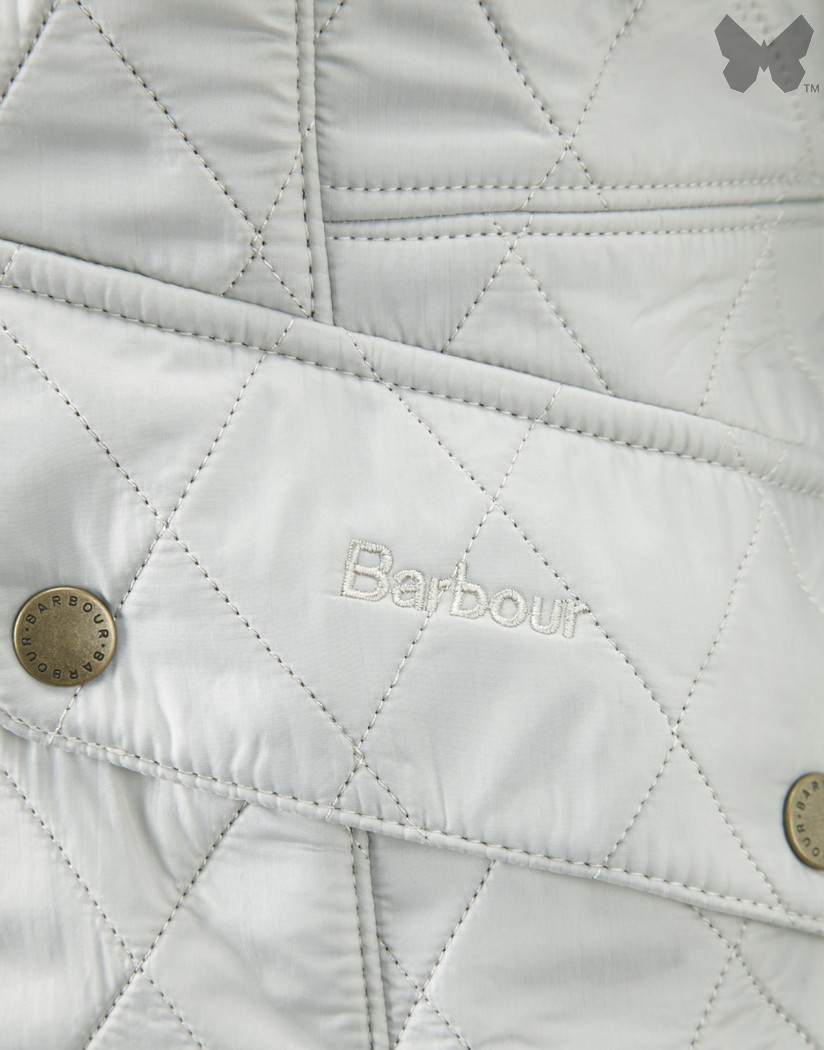 Barbour Pearl/Rustic Cavalry Polarquilt Jacket