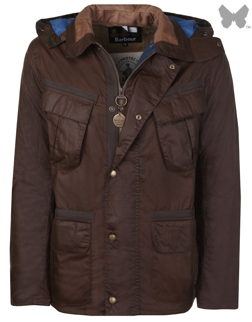 Barbour Peat Benkirk Wax Jacket
