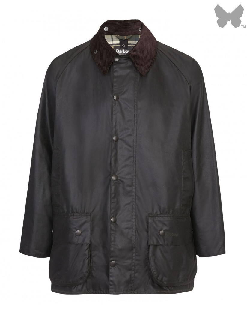 Barbour Sage Beaufort Wax Jacket