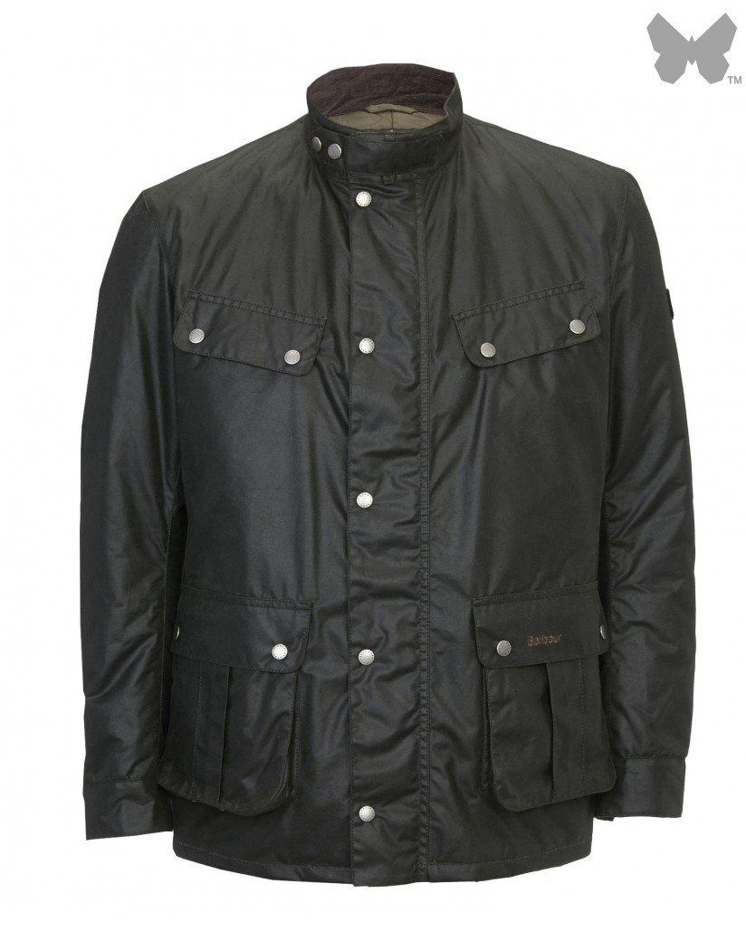 Barbour Sage Duke International Wax Jacket