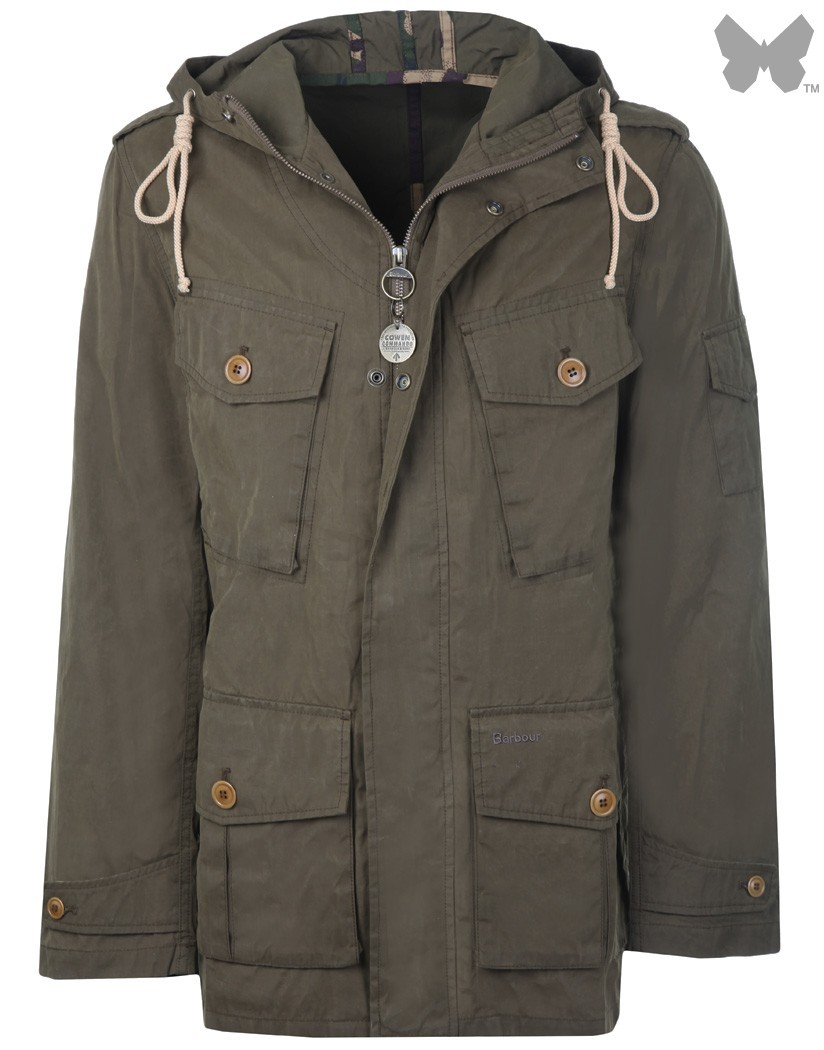Barbour Sand Ranger Jacket