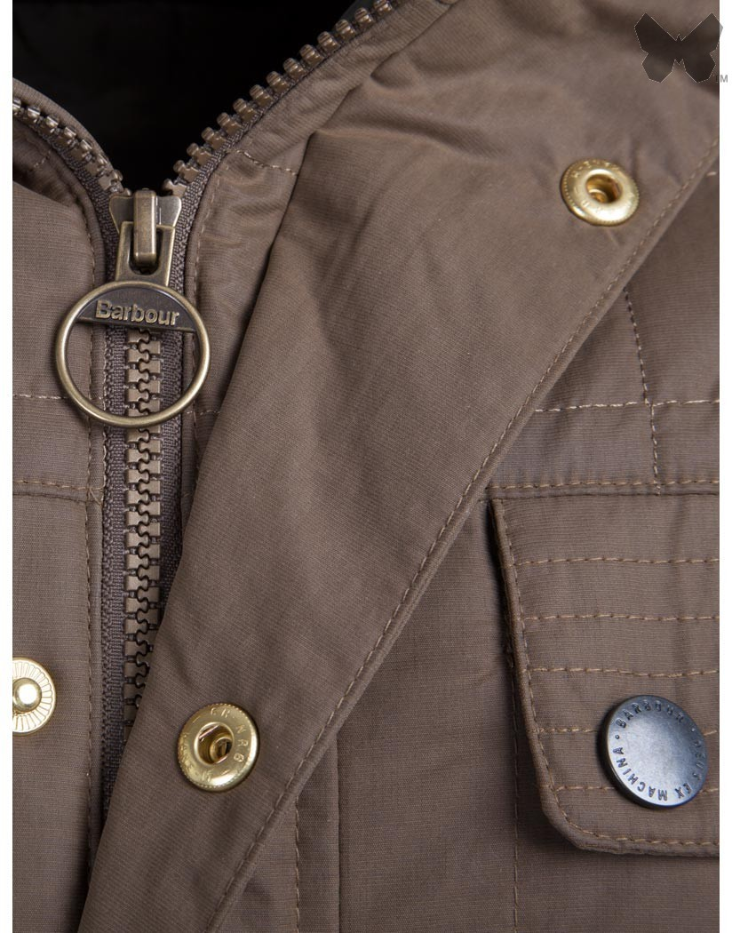 Barbour Sandstone Bayswater Quilted Jacket