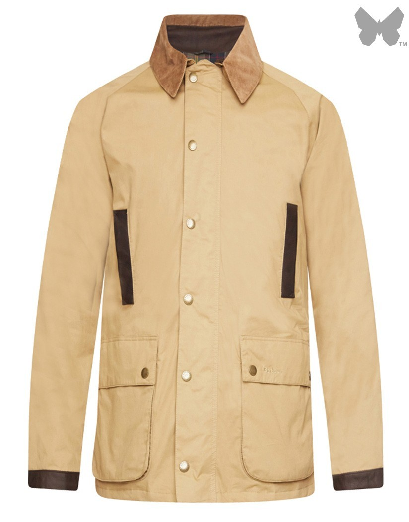 Barbour Trench Stone Lightweight Waterproof Gamefair Jacket